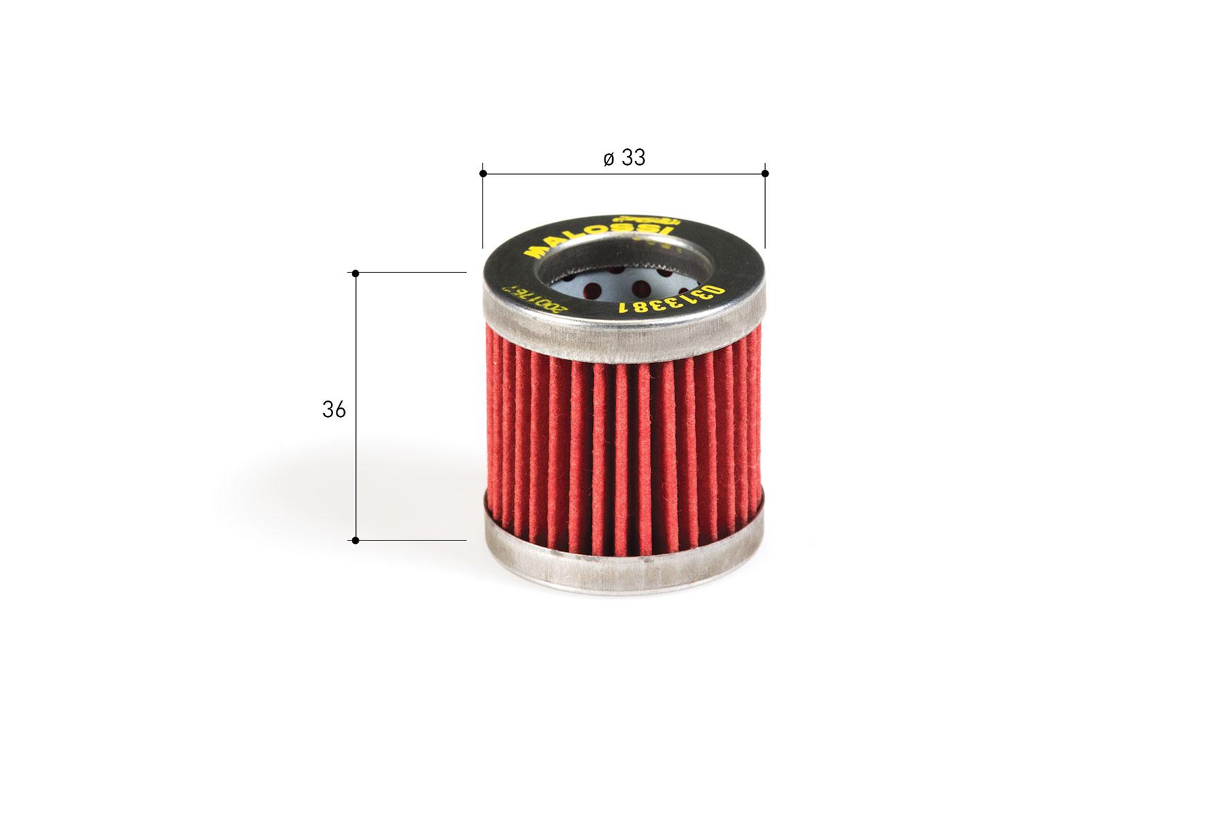 Filtro lubricante RED CHILLI OIL FILTER