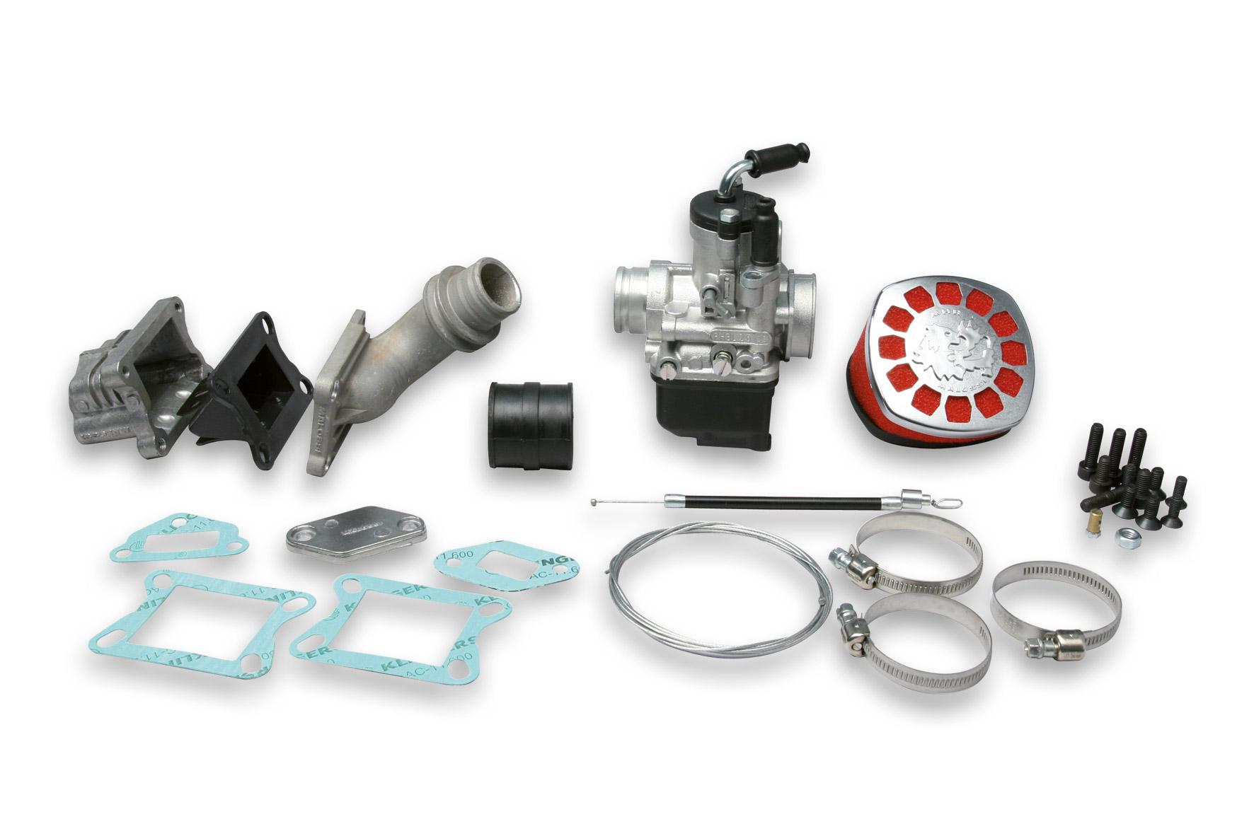 Impianto alimentazione PHBL 25 B lamellare al cilindro per Vespa Special 50 cc