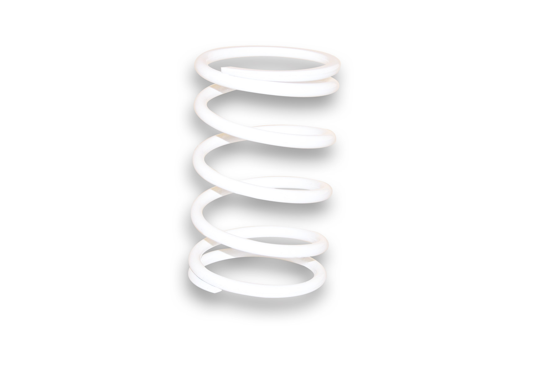 WHITE VARIATOR ADJUSTER SPRING ext.Ø 53,1x110mm thread Ø 3,6mm 3,5k