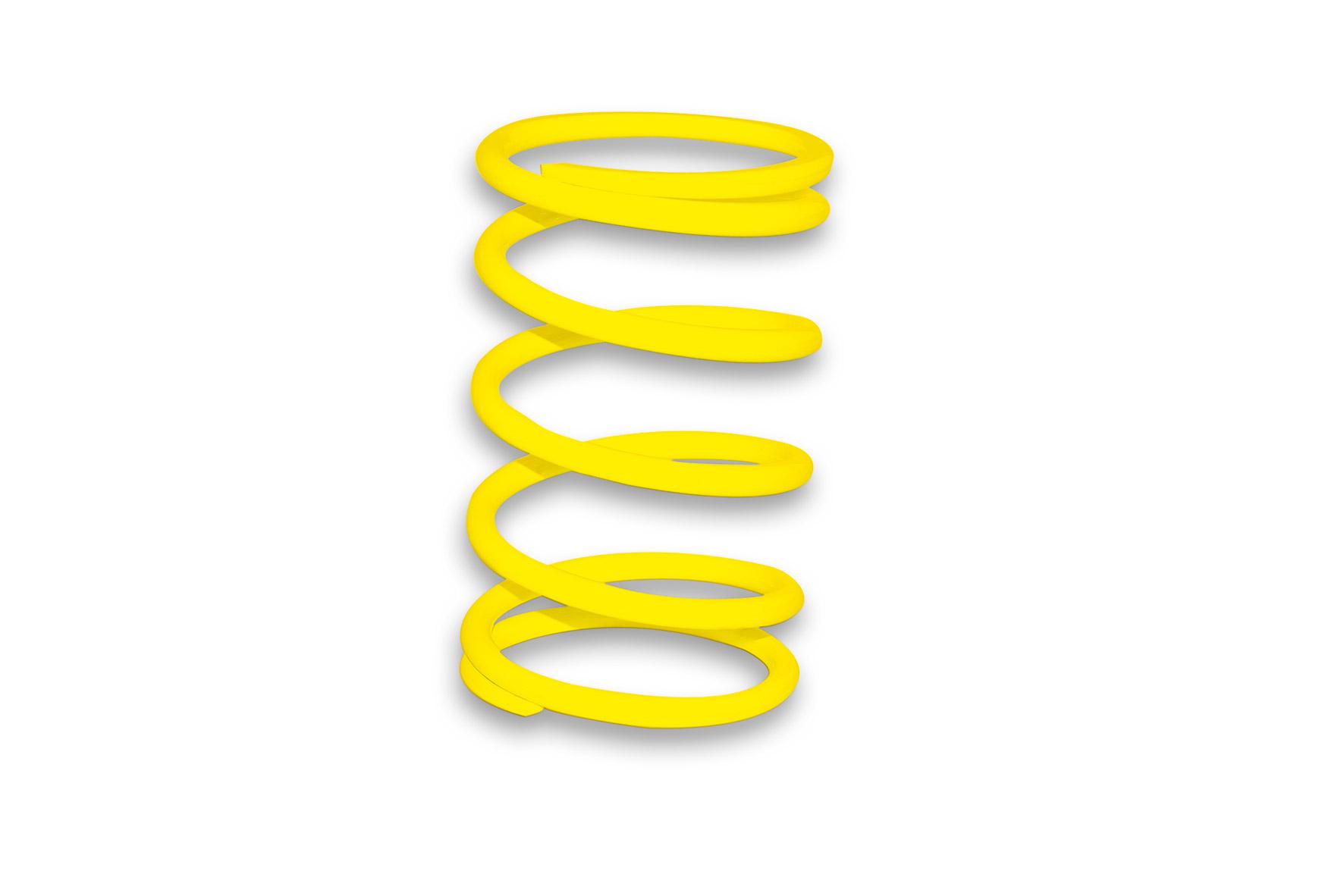 Molla di contrasto variatore gialla (Ø esterno 57,50x120 mm - Ø filo 4,5 mm - k 5,5)