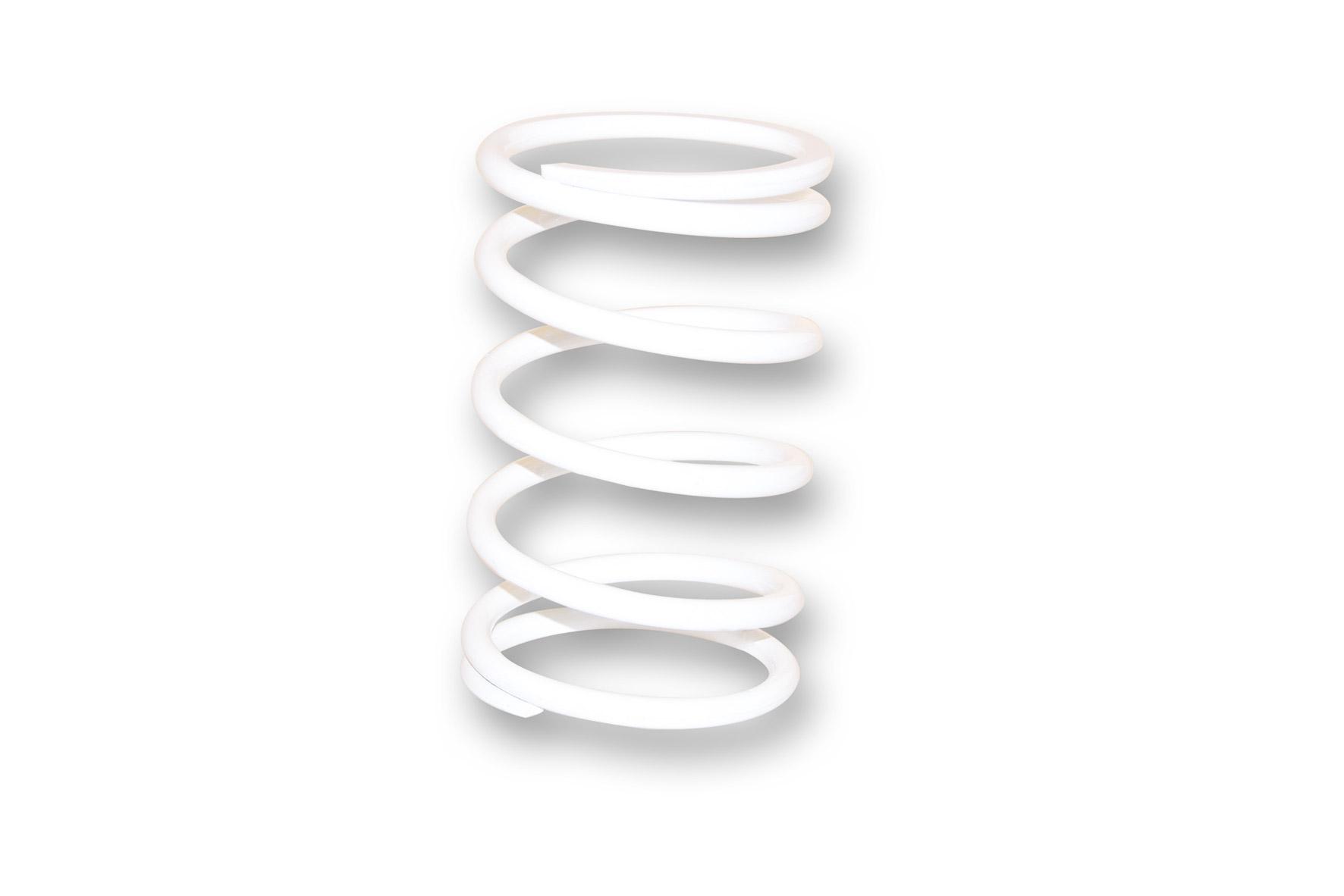 Molla di contrasto variatore bianca (Ø esterno 67,9x120 mm - Ø filo 5,4 mm - k 8,8)