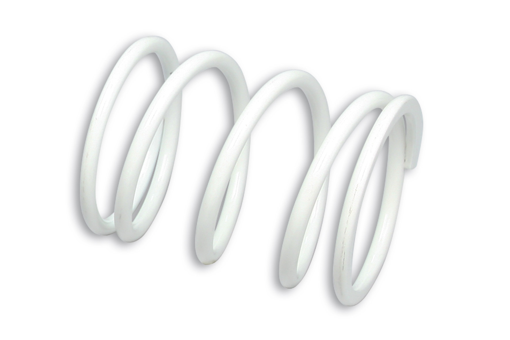 Molla di contrasto variatore bianca (Ø esterno 73x96 mm - Ø filo 6 mm - k 14,5)