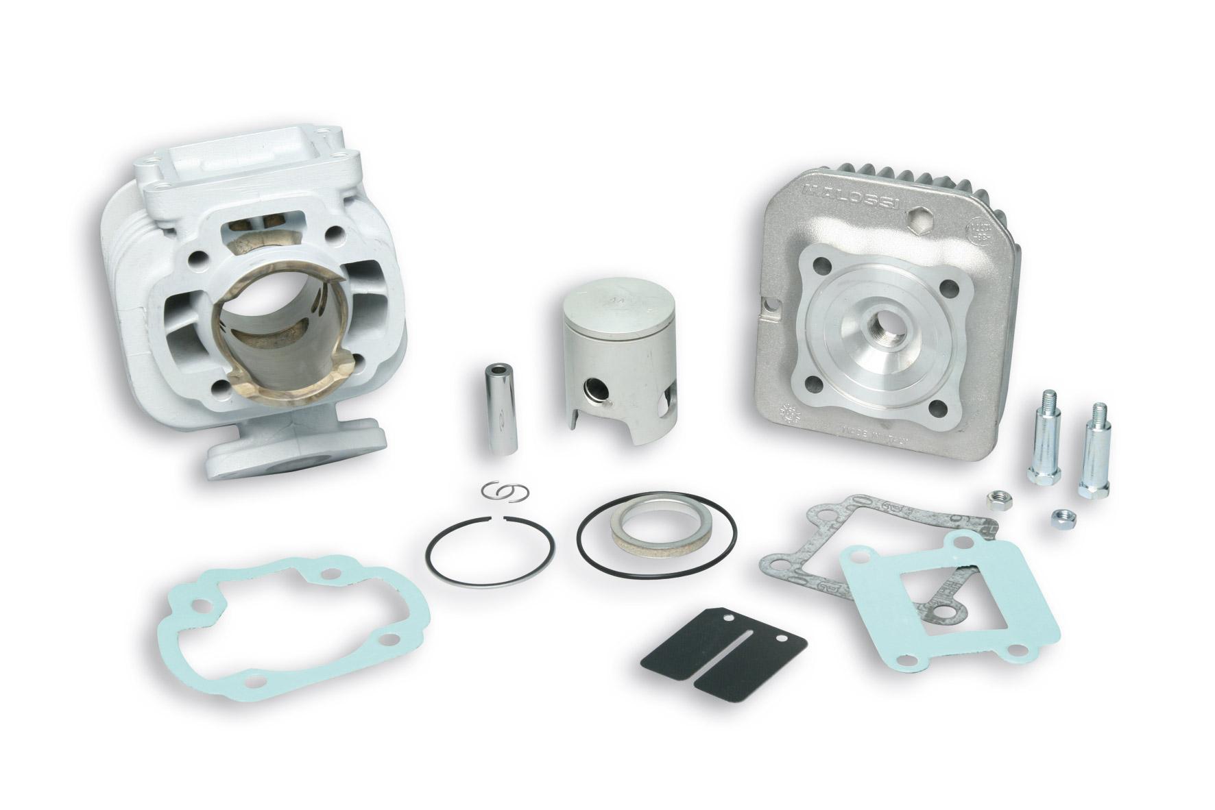 alumin cylinder kit 50 cc pin 10 mhr dettaglio prodotto malossistore. Black Bedroom Furniture Sets. Home Design Ideas