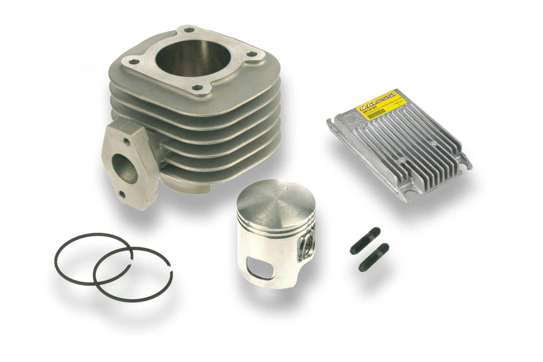 Cilindro completo I - TECH Ø 47 in alluminio con spinotto Ø 12