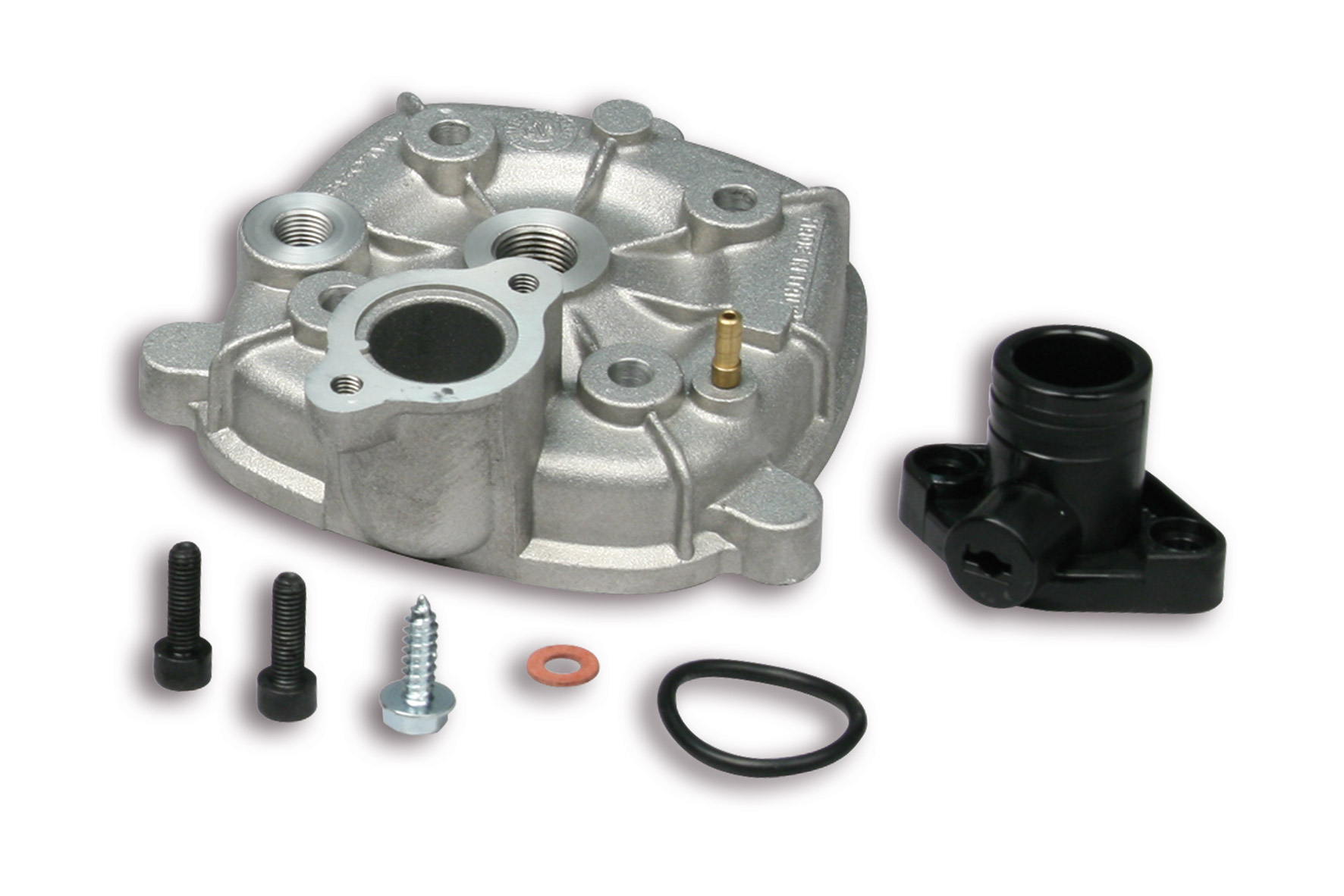 ALUM. CYL.HEAD Ø 40 H2O HTSR MHR - spare part for Malossi cylinder kit 31 8865 - out of production