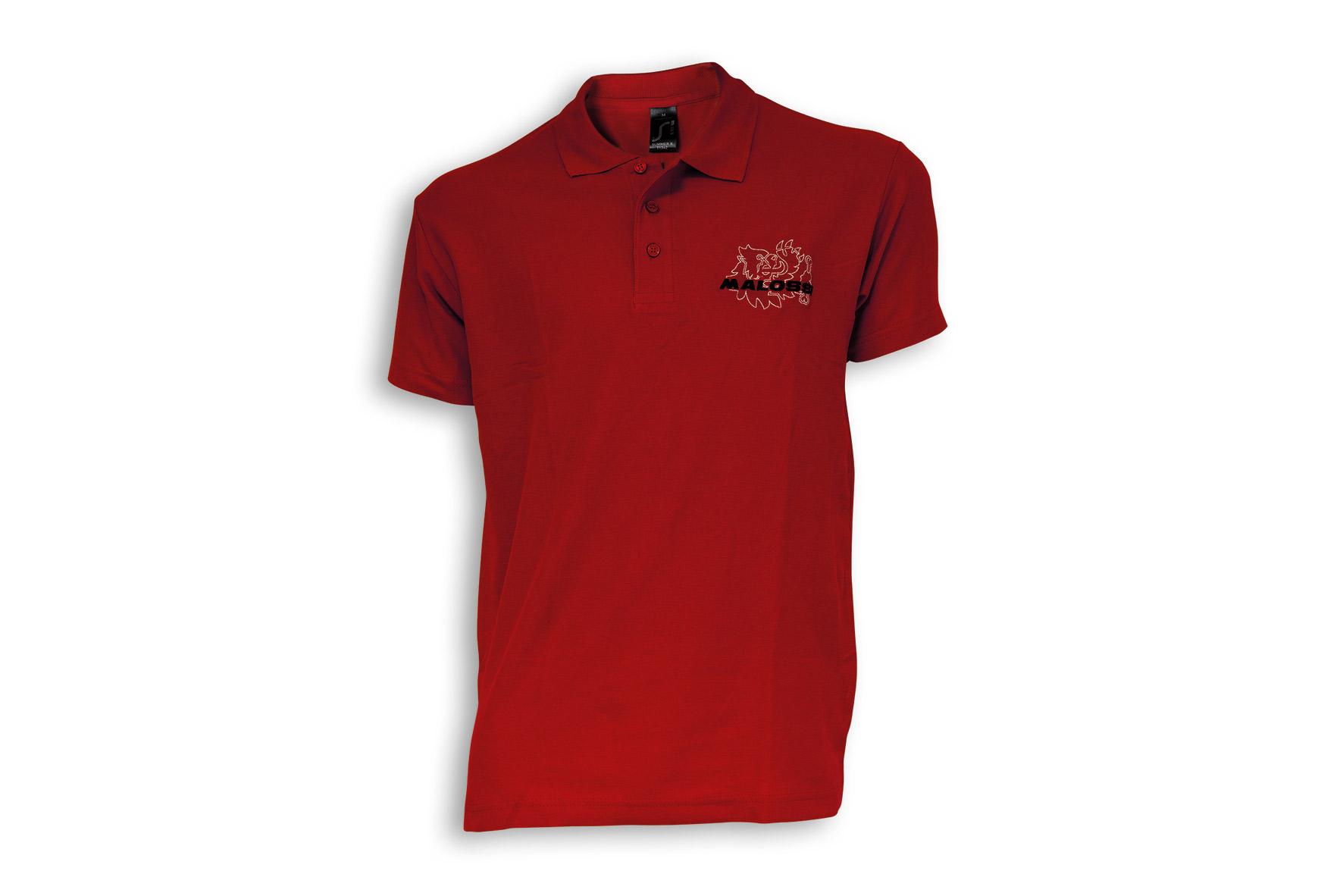 RED POLO SHIRT MALOSSI -MEN ( XL )