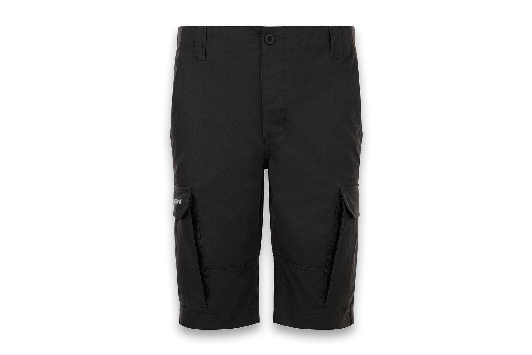 Bermuda Malossi multitasche di colore nero - taglia ( 48 )