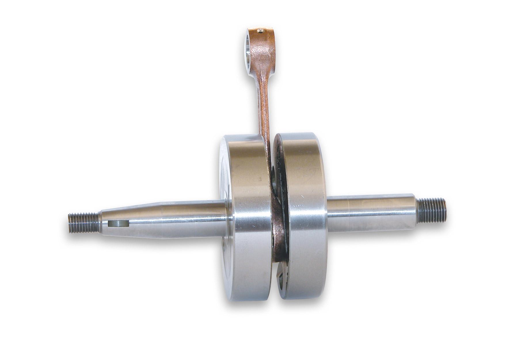 Albero motore RHQ con spinotto Ø 12 e corsa 39 mm