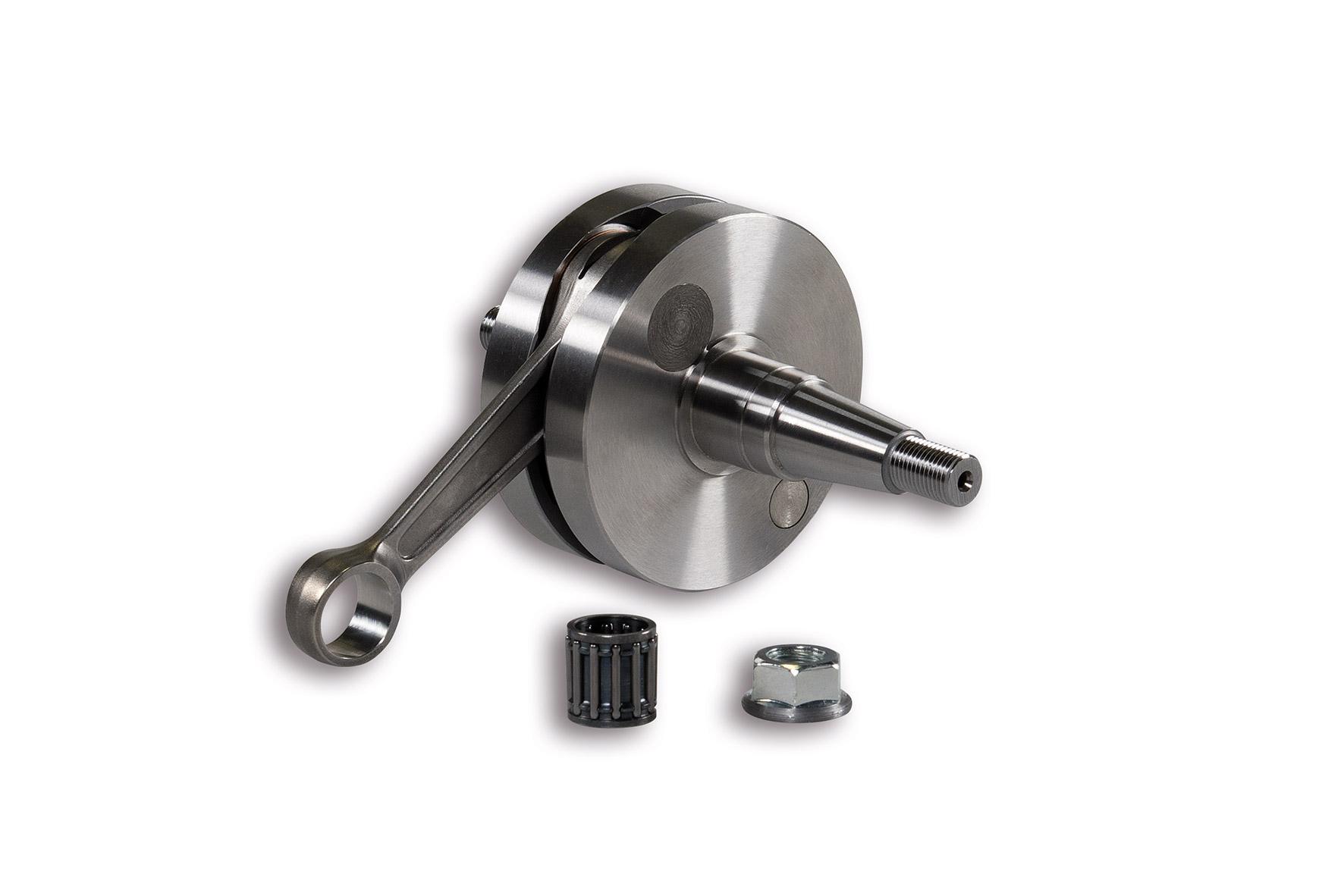 CRANKSHAFT pin Ø 15 rod 105 (stroke 51 mm) reed valve - cone Ø 20