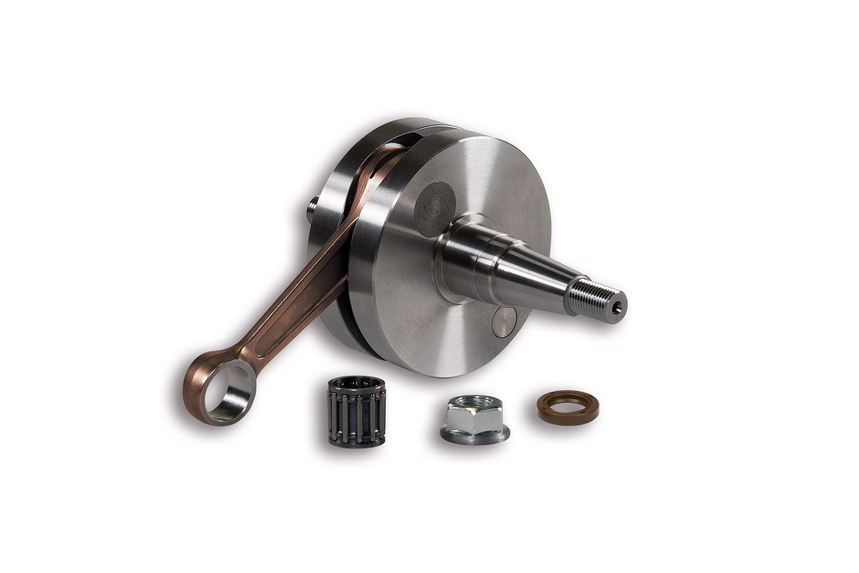 CRANKSHAFT pin Ø 15 rod 97 (stroke 51 mm) reed valve - cone Ø 20