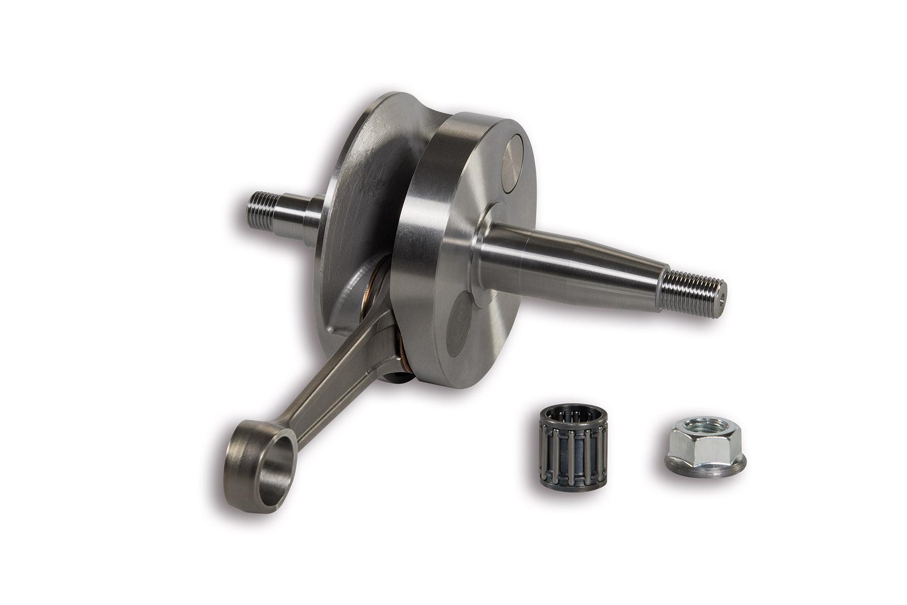 CRANKSHAFT pin Ø 15 rod 97 (stroke 51 mm) rotating valve - cone Ø 20