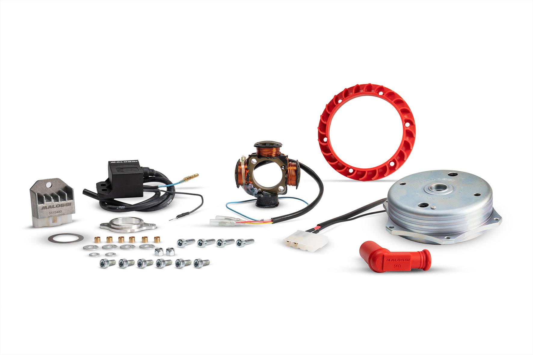 Accensione Power solo per ciclomotori Piaggio che montano d'origine l'accensione elettronica
