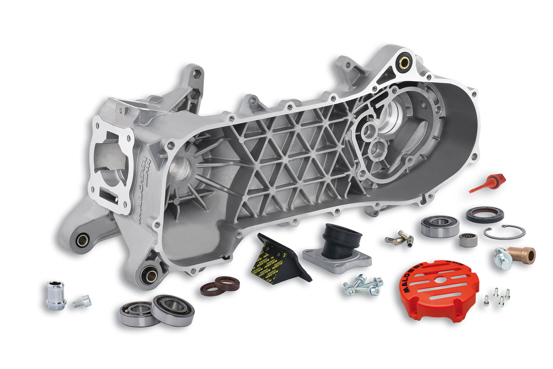 § MHR RC-one COMPL. ENGINE CRANKCASE (for PIAGGIO engine)
