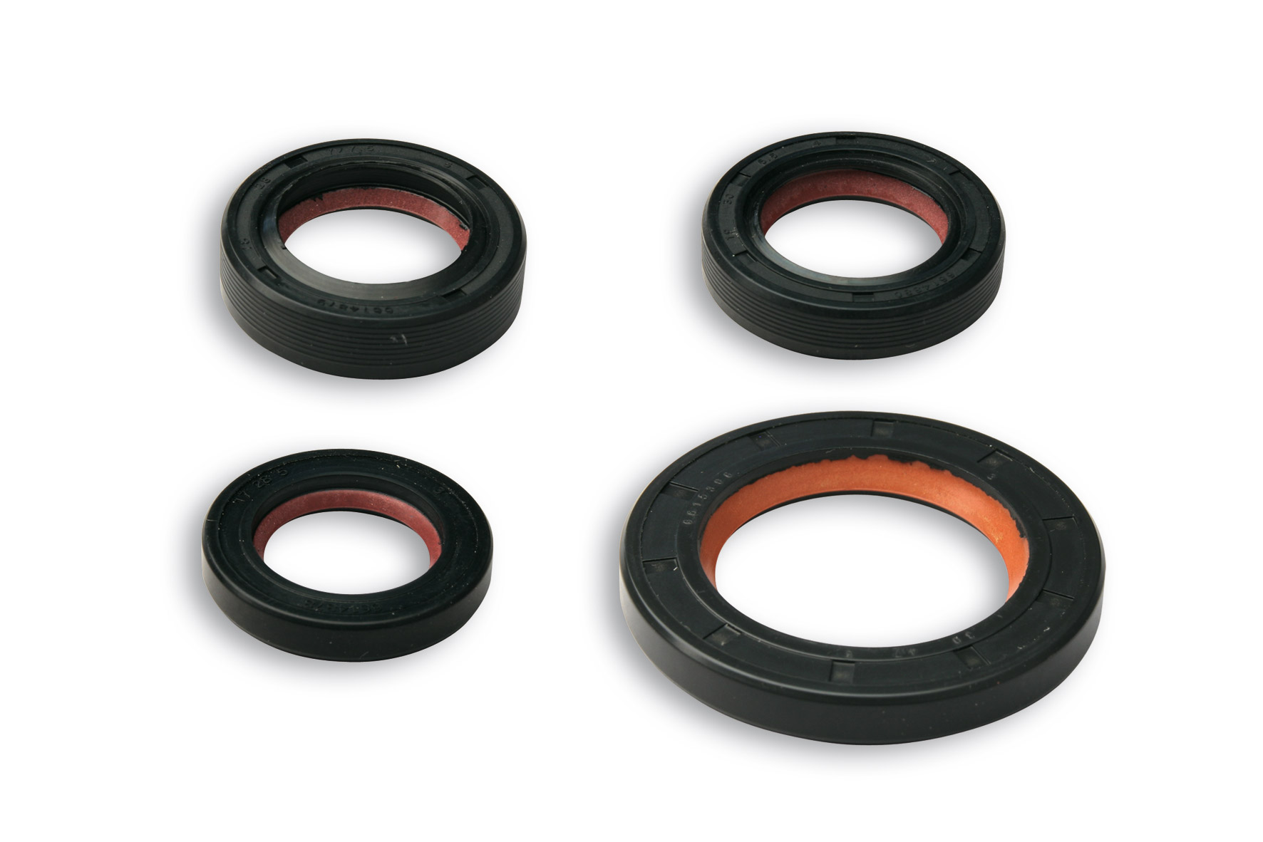 OIL-SEAL SET FKM/PTFE for OVERHAUL PIAGGIO scooter 50 2T autom.