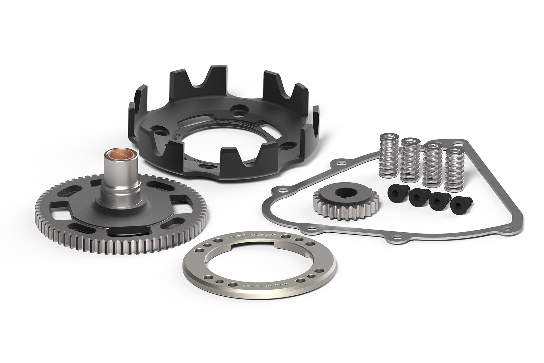 PRIMARY GEARS z 24/72 with FLEXIBLE COUPLING