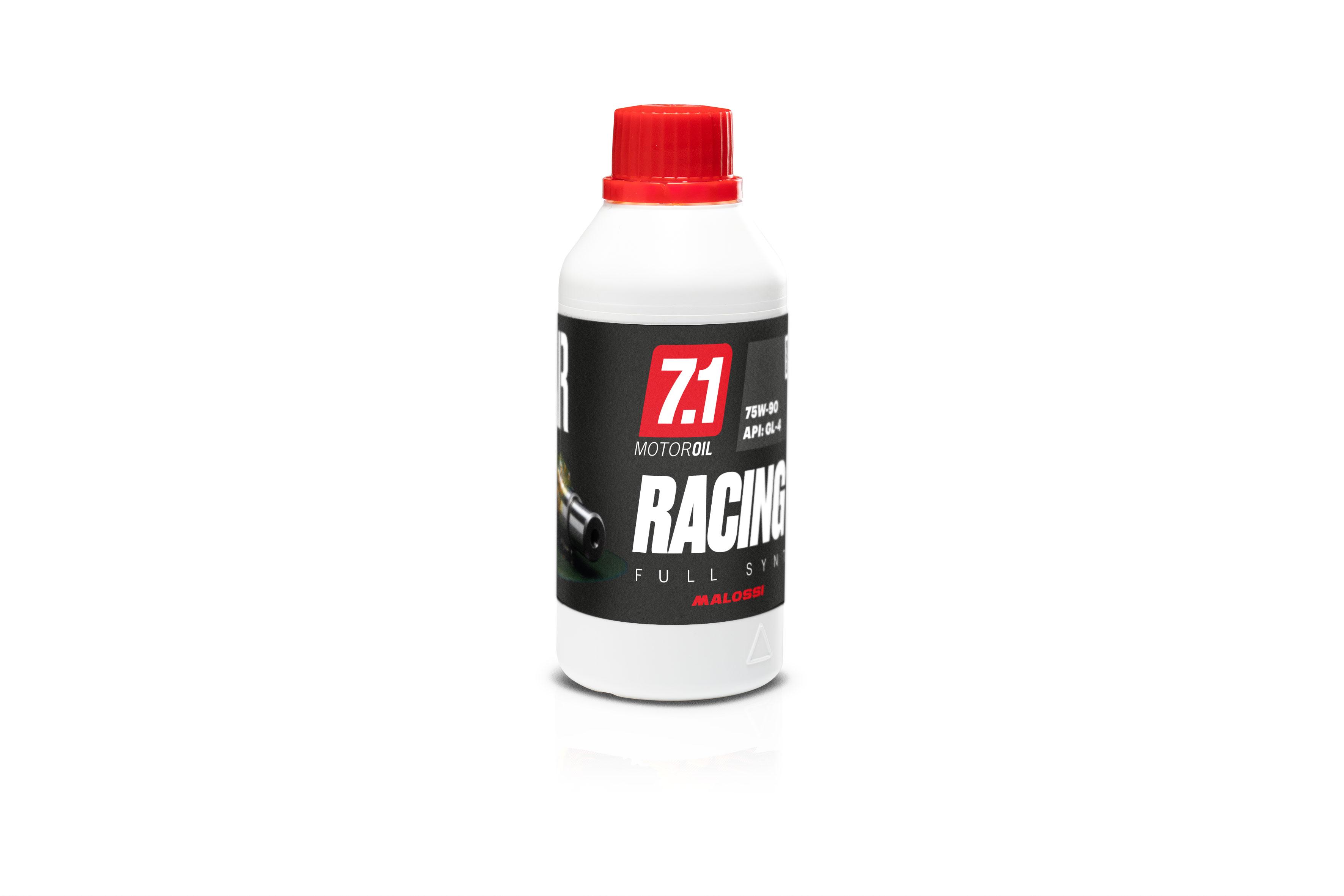 Flacone olio ingranaggi 7.1 RACING Gear Oil Full Synt (SAE 75W - 90) 0.25L