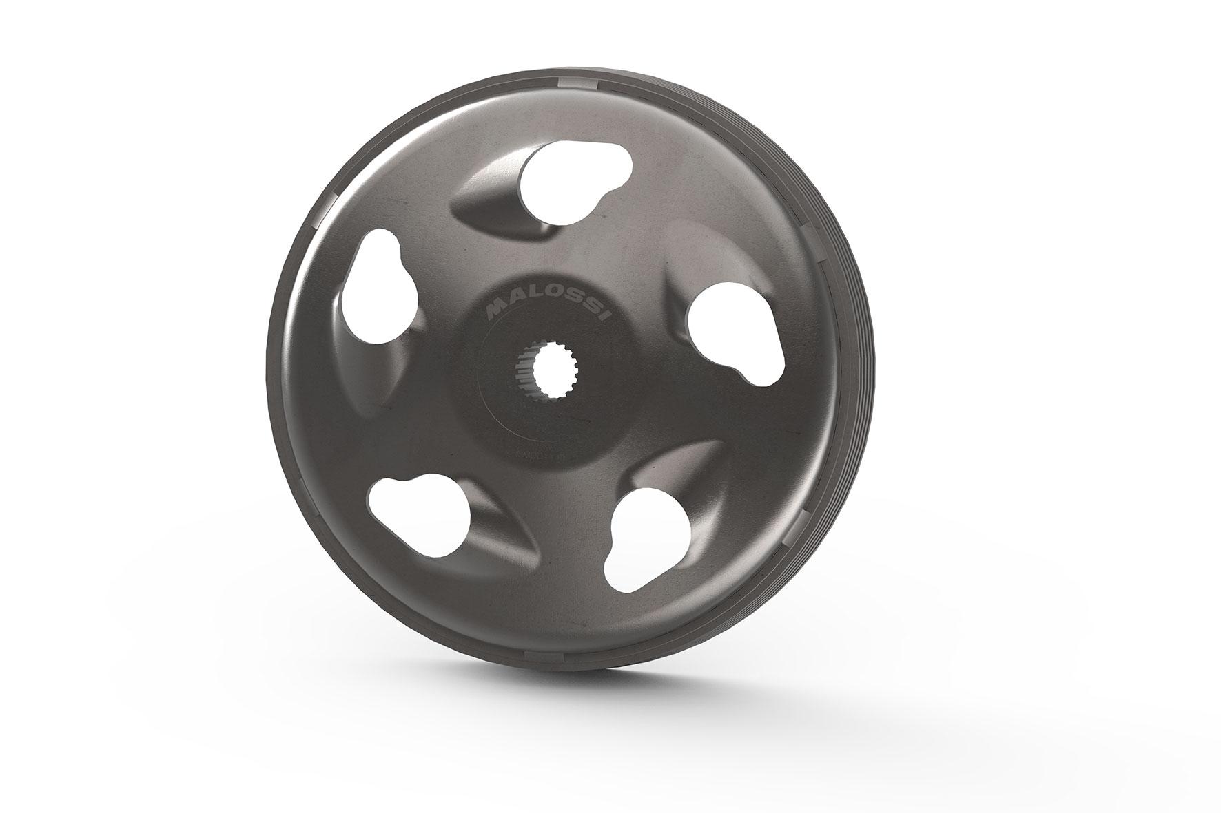 Campana frizione alettata MAXI WING CLUTCH BELL Ø interno 125 mm